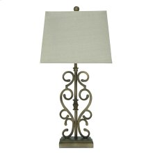 Ashley Amiel Series Metal Table Lamp