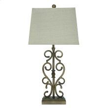 Ashley Amiel Series Metal Table Lamp