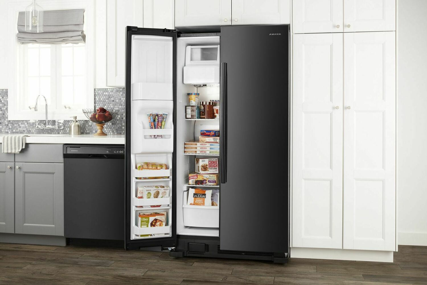Asi2175grb Amana 33 Inch Side By Side Refrigerator With