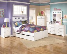 Lulu - White 5 Piece Bed Set (Full)