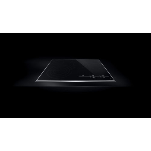 "Lustre Stainless 30"" Electric Radiant Cooktop with Glass-Touch Electronic Controls Stainless Steel"