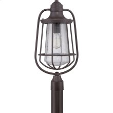 Marine Outdoor Lantern in Western Bronze
