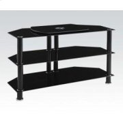 TV Stand W/bk Gl (1pc/1ctn) Product Image