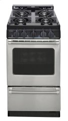 20 in. Freestanding Gas Range in Stainless Steel Product Image