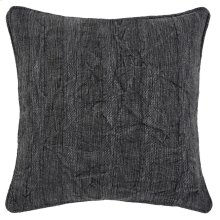 SLD Heirloom Linen Charcoal 22x22