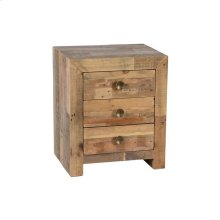 Omni 3Dwr Nightstand Natural