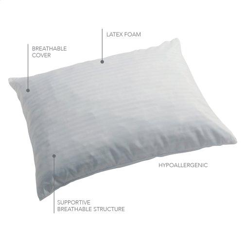 Sleep Plush Advanced Support Micro-Cubed Latex Foam Pillow, King