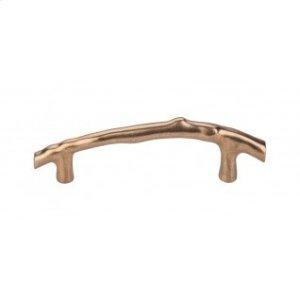 Aspen Twig Pull 5 Inch (c-c) - Light Bronze