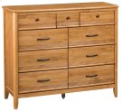 GSP 9-Drawer Pacific Dresser Product Image