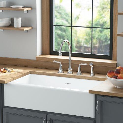 Delancey 36x22-inch Apron Sink  American Standard - Brilliant White