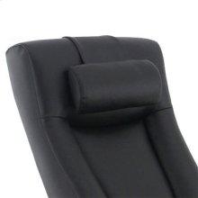 Hamar Cervical Pillow in Black Top Grain Leather