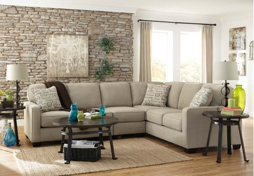 2-Piece Sectional with LAF Lovesest