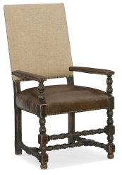 Dining Room Comfort Upholstered Arm Chair