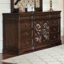 Ilana Antique Java Nine-drawer Dresser