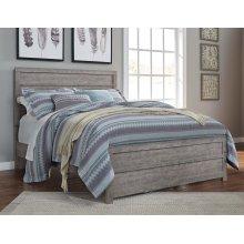 Queen Culverbach Panel  Bed w/Rails