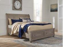 Lettner - Light Gray 3 Piece Bed Set (Cal King)