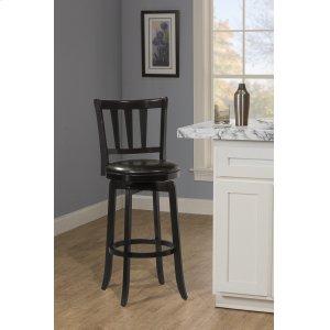 Hillsdale FurniturePresque Isle Swivel Bar Height Stool - Black