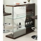 Two-shelf Contemporary Cappuccino Bar Unit Product Image