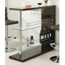 Two-shelf Contemporary Cappuccino Bar Unit
