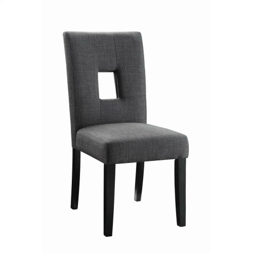 Andenne Transitional Grey Dining Chair