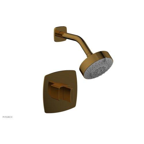 RADI Pressure Balance Shower Set - Blade Handle 181-21 - French Brass