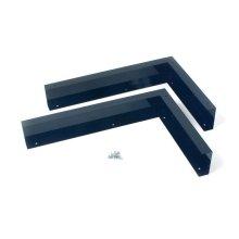 Microwave Hood Filler Panel Kit - Black
