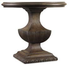 Bedroom Rhapsody Urn Pedestal Nightstand