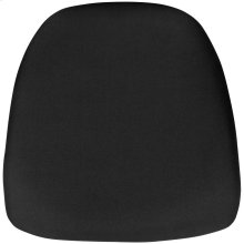 Hard Black Fabric Chiavari Chair Cushion