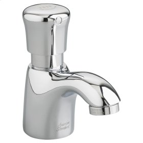 Pillar Tap Metering Faucet  0.5 GPM  American Standard - Polished Chrome