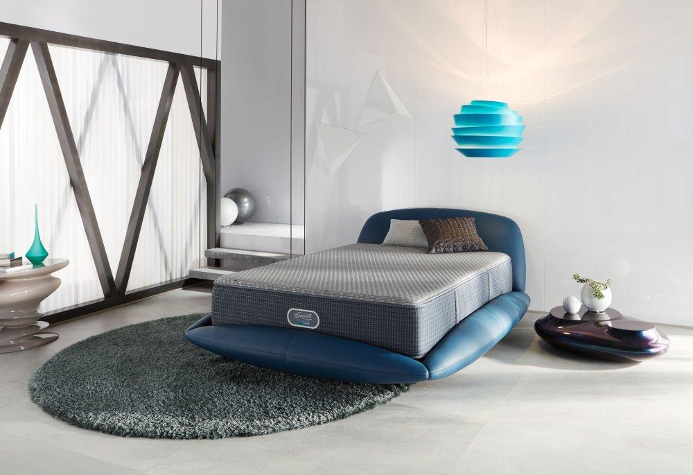 Simmons Beautyrest Silver Hybrid Beachwood Top Luxury Firm Full