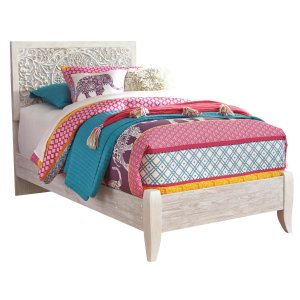 Ashley Furniture Paxberry - Whitewash 2 Piece Bed Set (Twin)