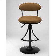 Venus Stool Brown With Black Base