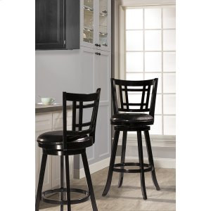 Hillsdale FurnitureFairfox Swivel Bar Stool - Black