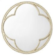 Bedroom Auberose Round Mirror Product Image