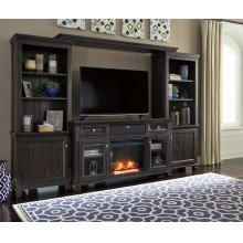 Townser - Grayish Brown 6 Piece Entertainment Set