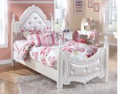 Exquisite - White 2 Piece Bed Set (Twin)