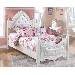 Ashley Furniture Exquisite - White 2 Piece Bed Set (Twin)