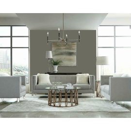 Hemet Light Grey Modern Sofa