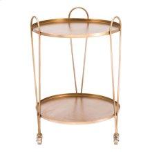 Trebede Bar Cart Gold