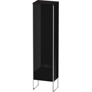 Tall Cabinet Floorstanding, Black High Gloss Lacquer