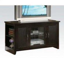 Espresso Folding TV Stand