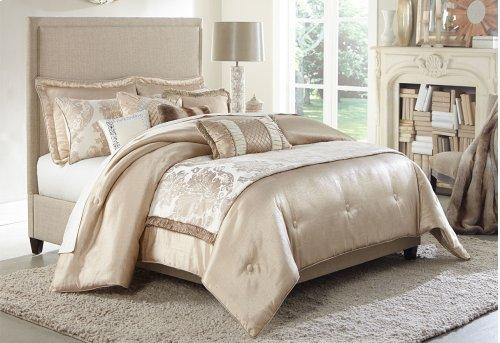 10 Pc King Comforter Set Sand