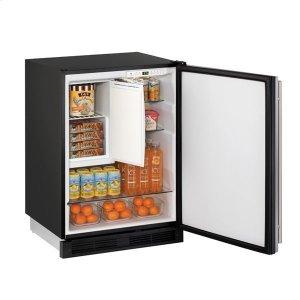 "U-Line24"" Refrigerator/freezer With Stainless Solid Finish (115 V/60 Hz Volts /60 Hz Hz)"