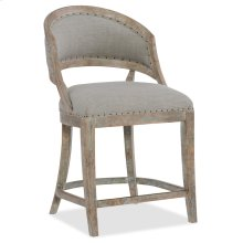 Dining Room Boheme Garnier Barrel Back Counter Stool