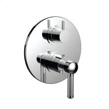 "7099en-tm - 1/2"" Thermostatic Trim With Volume Control and 3-way Diverter in Polished Nickel"