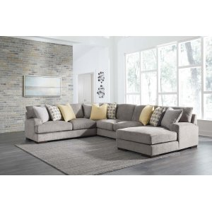 Ashley Furniture Fallsworth - Smoke 3 Piece Sectional