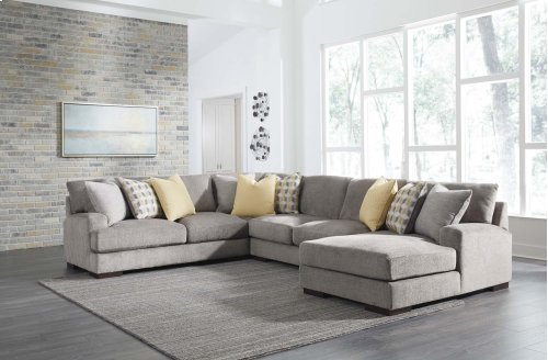 Fallsworth - Smoke 2 Piece Sectional