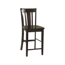 San Remo Stool in Rich Mocha