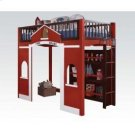 Fola Loft Bed W/bookcase Product Image