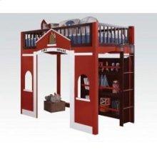 Fola Loft Bed W/bookcase